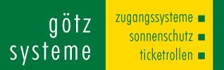 götz ticket gmbh | Sanitär Zugangssysteme | Ticketrollen | Verbrauchsmaterial Sanitär | Markisen und Sonnenschutz |  Ticketrollen Logo